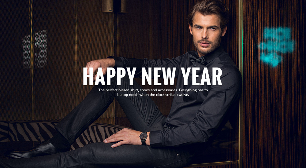 New Year's Eve outfits for men