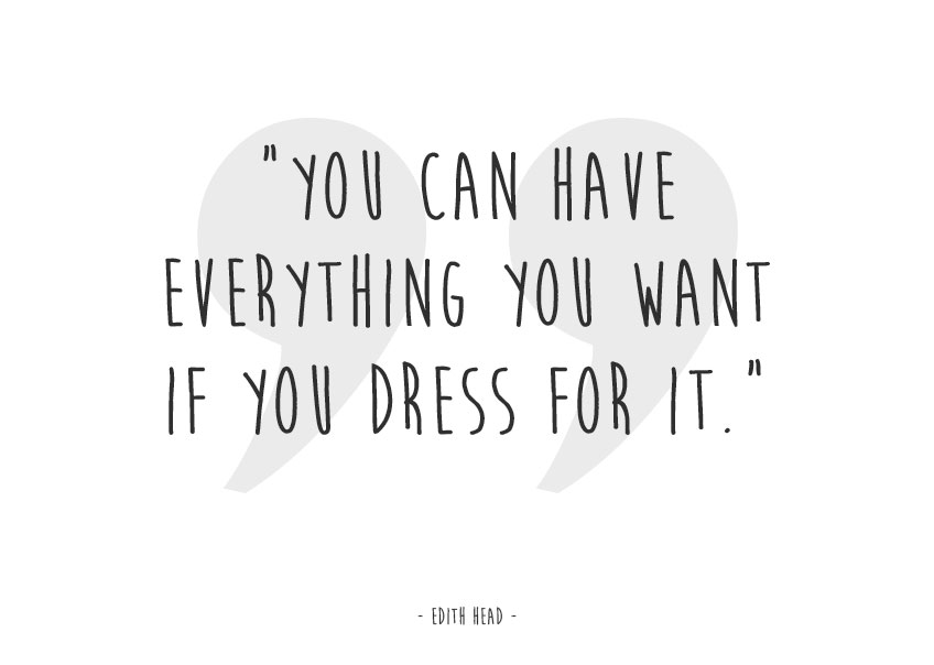 Dress For Success Quotes Glamorous Dress For Success
