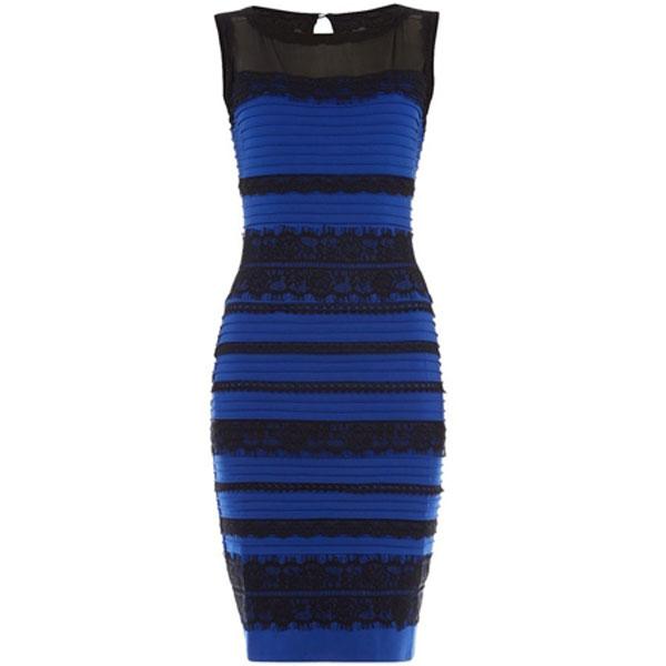 Black blue dress buzzfeed