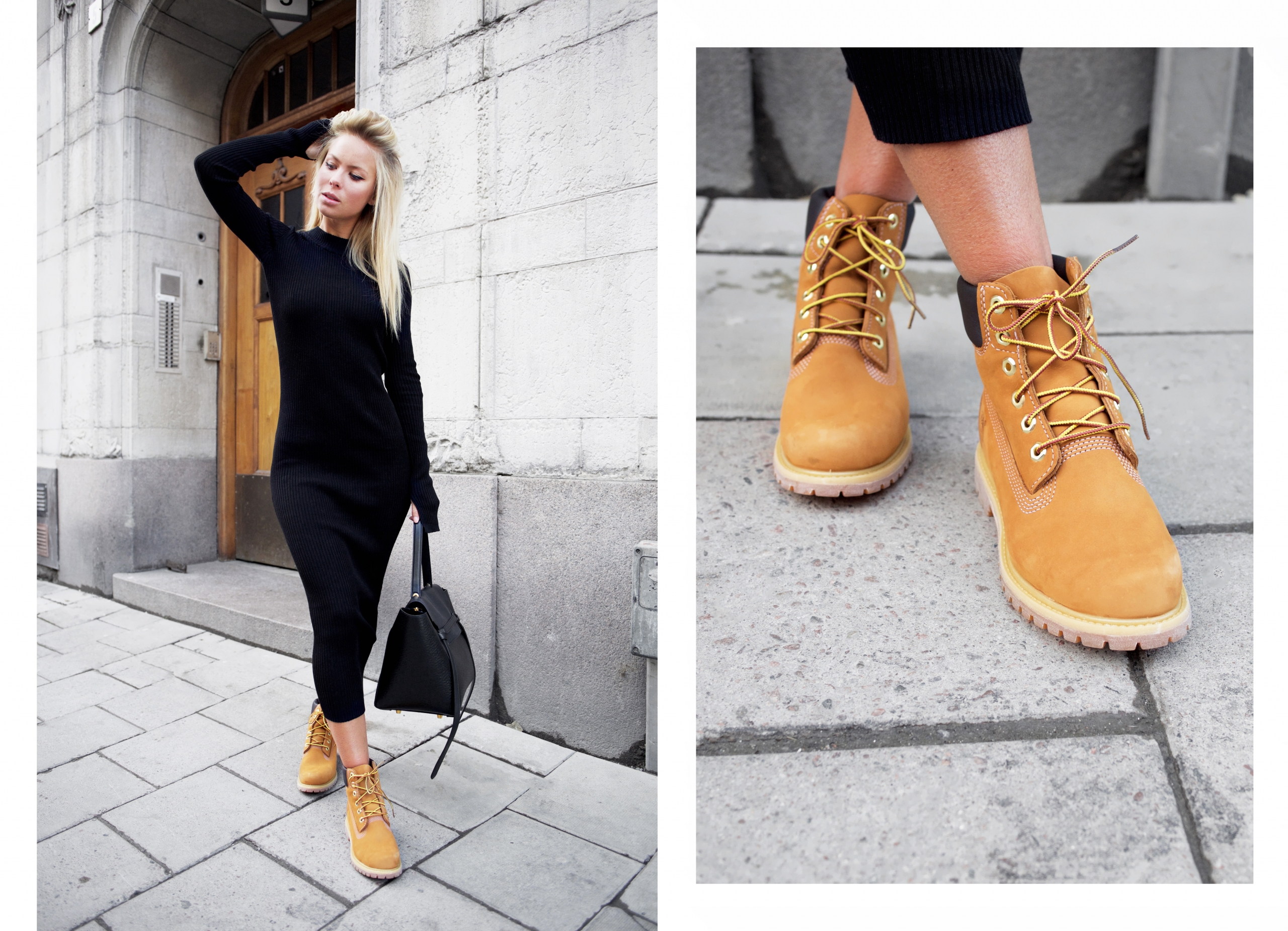 comment mettre timberland femme