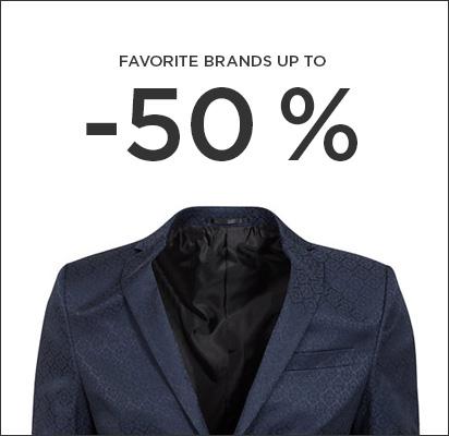 favoriter upp till 50%
