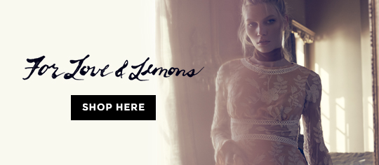Designers - designerbrands for lova & lemons