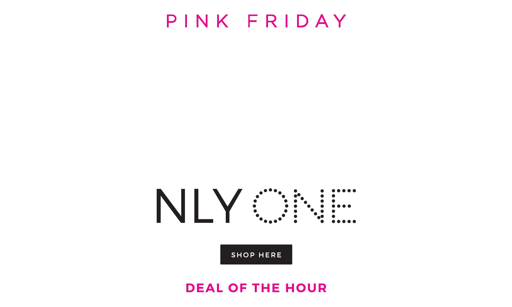 Pink Friday Deal på NLY One
