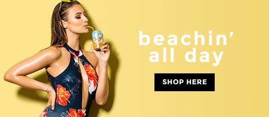 beachin all day - Badetøj hos Nelly.com