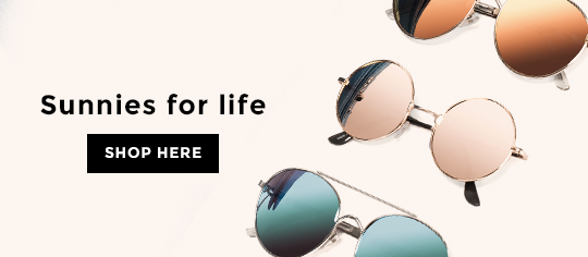 Sunnies for life - Solbriller hos Nelly.com